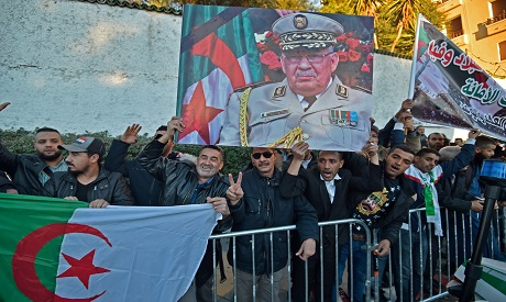 The funeral of Algeria