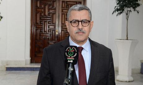 Algerian Prime Minister Abdelaziz Djerad