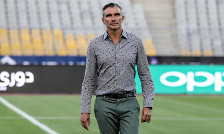 Zamalek French coach Patrice Carteron