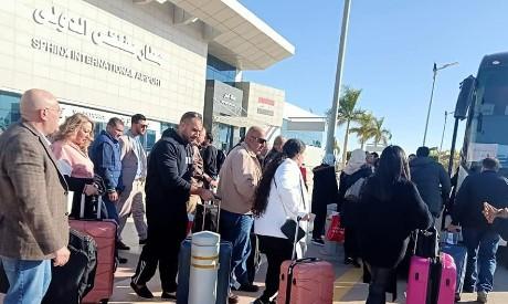 Fly Jordan passengers at SPX