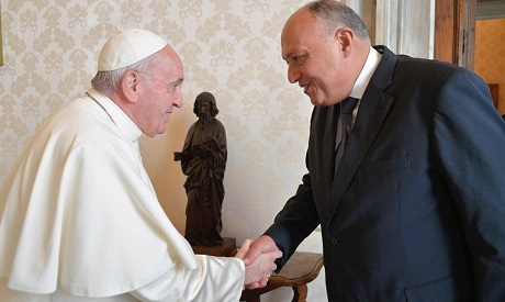 Pope and Shoukry