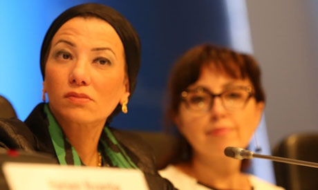 Minister Yasmine Fouad (Photo courtesy of Environment Ministry)