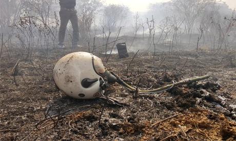 Indian fighter crash