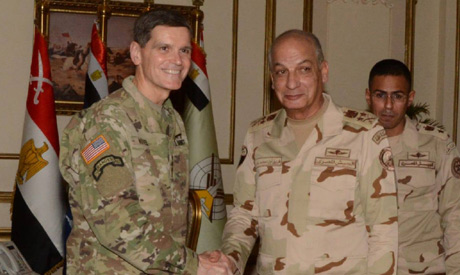 us general Joseph Votel and Egypt