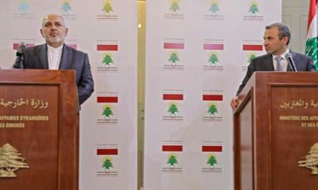 Gibran Bassil, Mohammad Javad Zarif