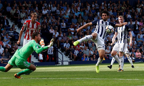 West Bromwich Albion Ahmed Hegazy (Reuters)
