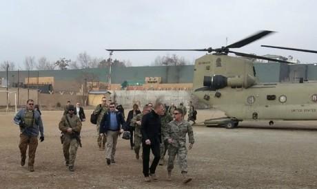 Patrick Shanahan in Afghanistan