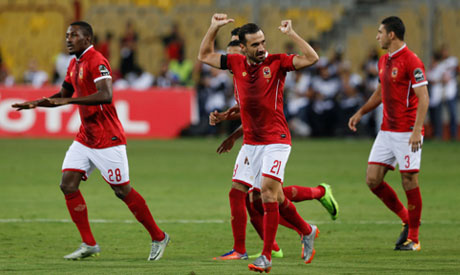 d4354ae3786551 File Photo  Al Ahly s Ali Maaloul celebrates scoring their first goal  (Photo  Reuters)