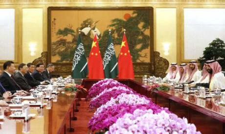 Mohammad bin Salman, Xi Jinping