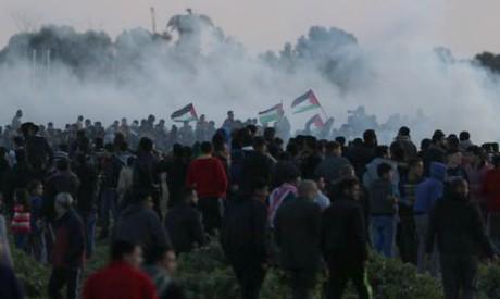 Protest at the Israel-Gaza border