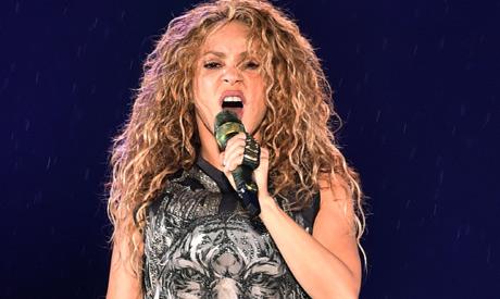 Colombian singer Shakira (AFP)