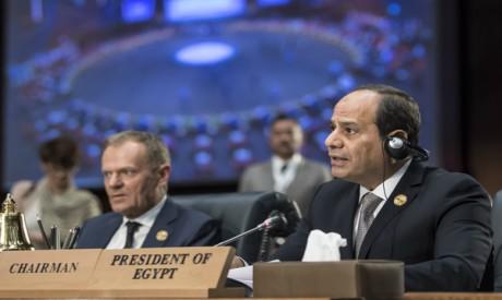 Al-Sisi and Tusk