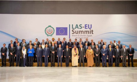 Arab and European leaders