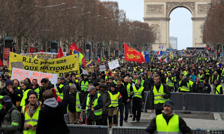 More Violence In Paris As Yellow Vests Keep Marching