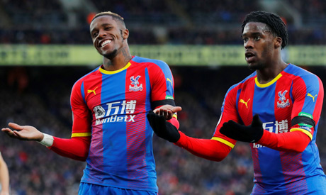 96a122fd08c Ivorian Zaha makes Palace point against West Ham - Africa - Sports ...
