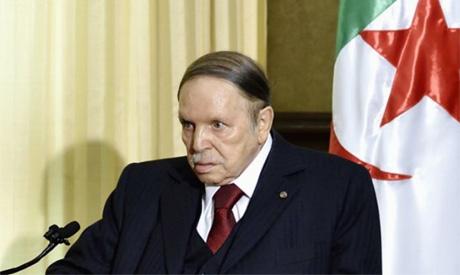 Algreian President Abdelaziz Bouteflika