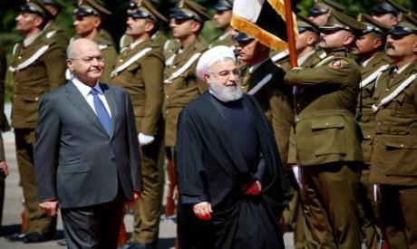 Barham Saleh, Hassan Rouhani