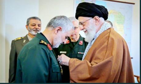 Qassim Solimani, Ali Khamenei