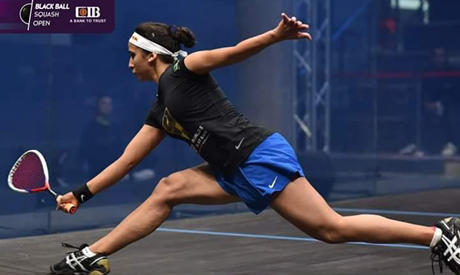 El-Sherbini, El-Welili and Gohar made it to the semis of the Black Ball Squash Open