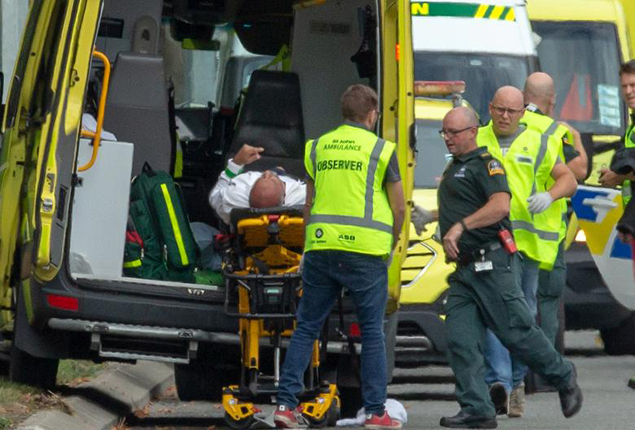 PHOTO GALLERY: 49 dead in mass shootings at New Zealand mosques