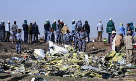 Ethiopian Airlines Flight crashed