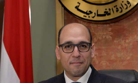 Egyptian MOFA Spox Ahmed Hafez