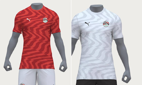 various colors fcaf6 e2627 Egypt's national football team unveil new kit by Puma ...