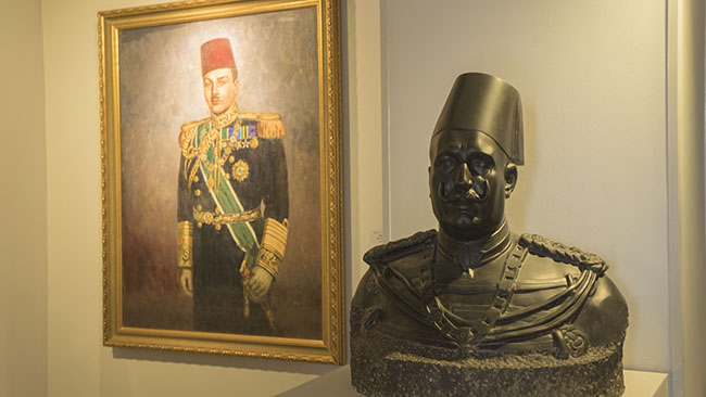 King Farouk and          King Fouad