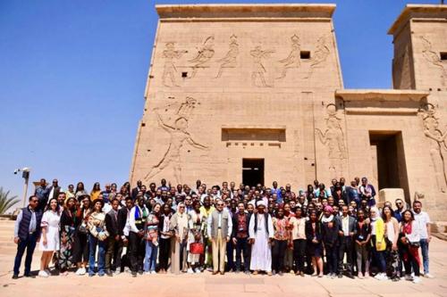 Abdel-Fattah Al-Sisi in Aswan