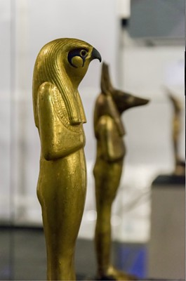 Statuette of god Horus
