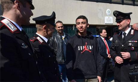 Egyptian student
