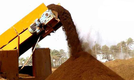 Disposing of solid waste in Egypt
