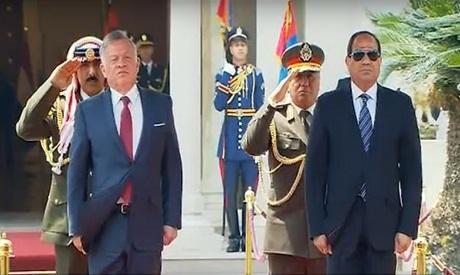 Sisi - King Abdullah