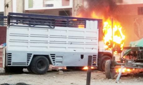 Clashes in Taiz, Yemen
