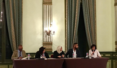 Experts in Cairo discussing climate change ( Photo: Ingy Deif)