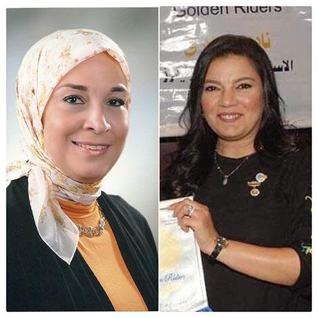 Nadia Sabbour and Wessam Hanafy