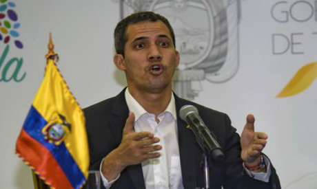 Venezuela's Juan Guaido .AFP