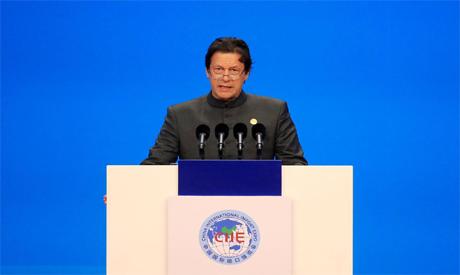 Pakistani PM Khan