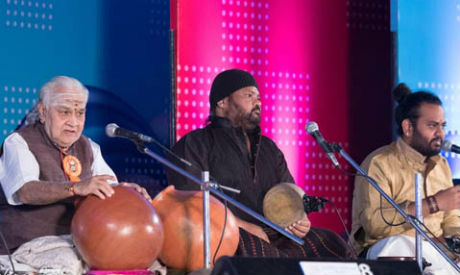 Vikku Vinayakram & V Selvaganesh- Indian Percussion Ensemble