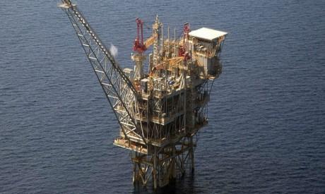 Tamar Israeli gas-drill platform