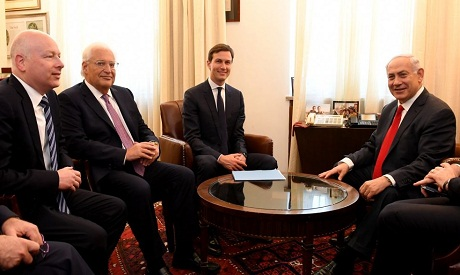 Jared Kushner and Netanyahu