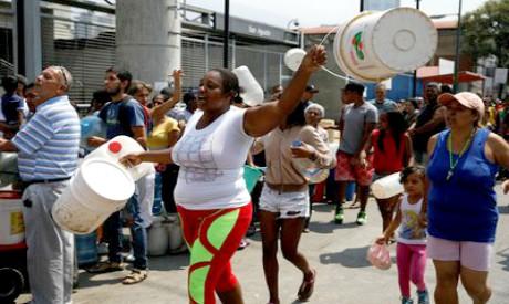 Venezuelans without running water