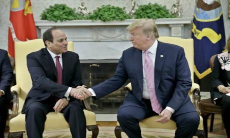 Abdel-Fattah Al-Sisi - Donald Trump