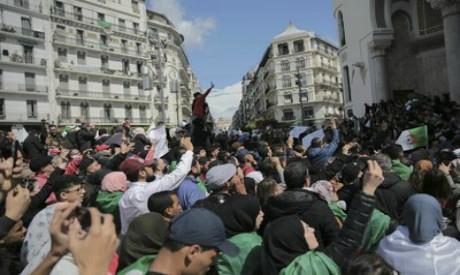 Demonstration in Algiers