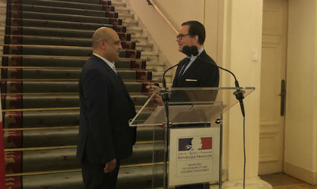 Ahmed El-Attar named Knight of the Order of Arts and Letters by the French ambassador in Cairo