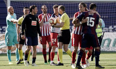 Eibar v Atletico Madrid