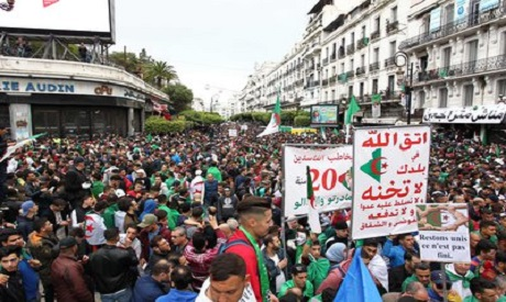 Algeria, protests