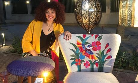 Rasha El Gammal Khayamia work