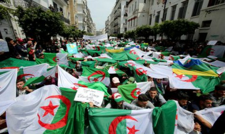 Algerian Demonstrators