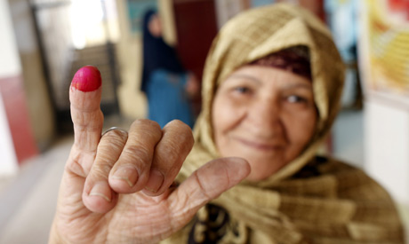 Egyptian voter